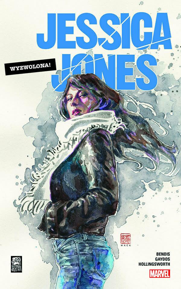 Jessica Jones Wyzwolona Okładka
