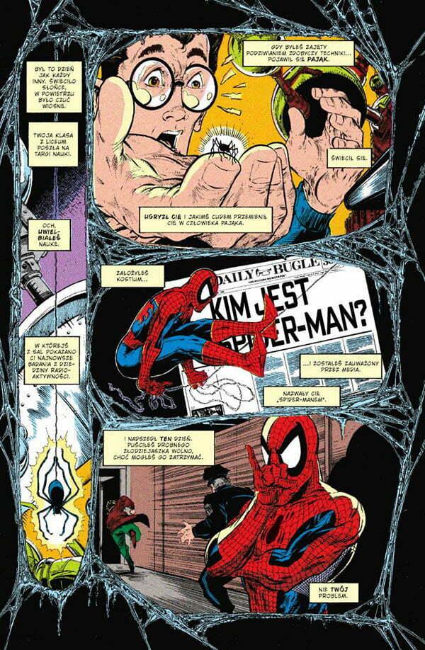 Spider-Man Przykładowa Strona