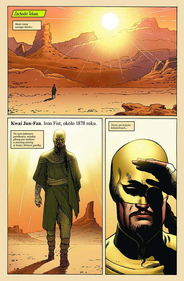 Nieśmiertelny Iron Fist 4 Strona Przykładowa