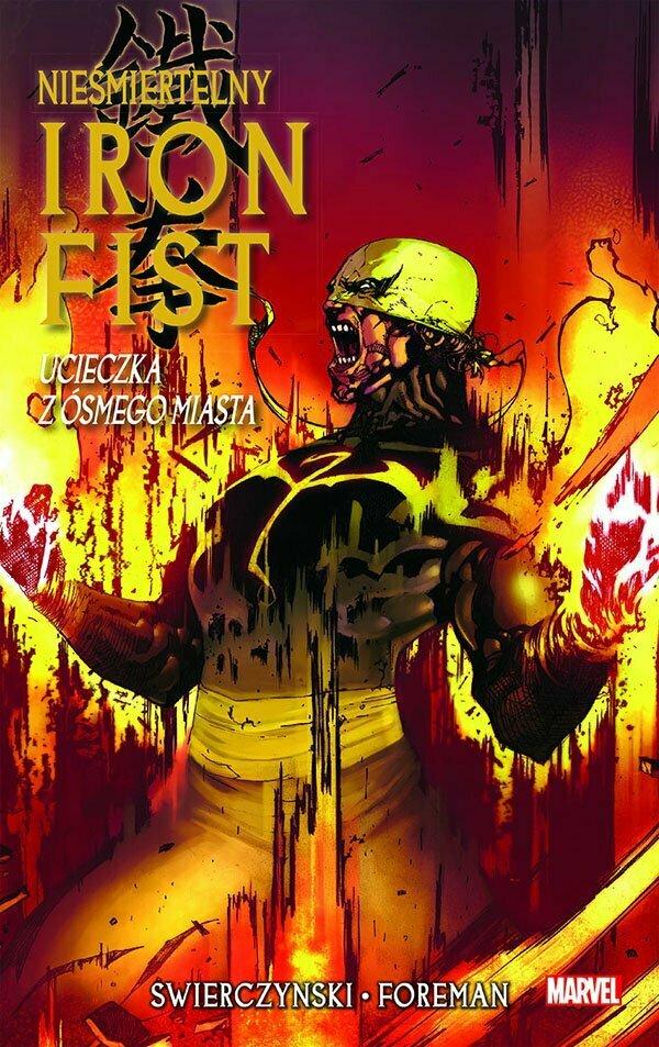 Iron Fist 4 Okładka
