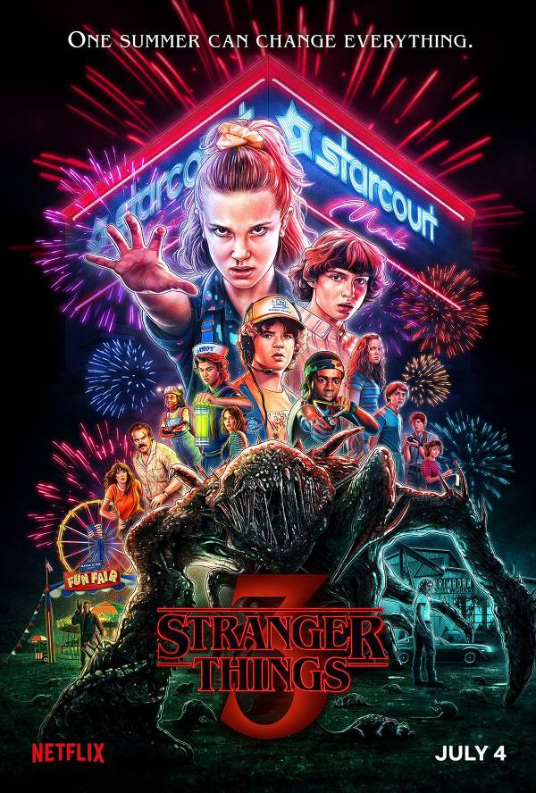 Stranger Things 3 Cover