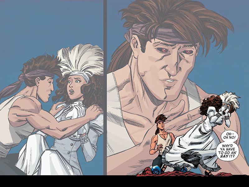 X-Men '92 Warzones – przykładowa strona komiksu