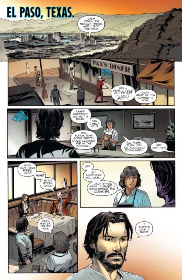 John Wick Comics 001