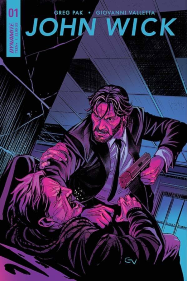 John Wick Comics Cover