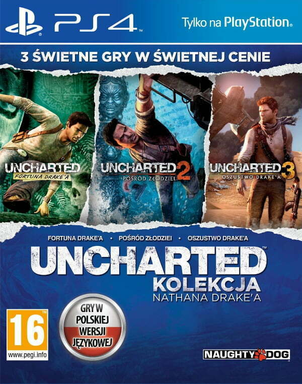Uncharted: Kolekcja Nathna Drake'a 1