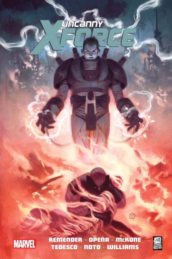 Uncanny X-Force Okładka