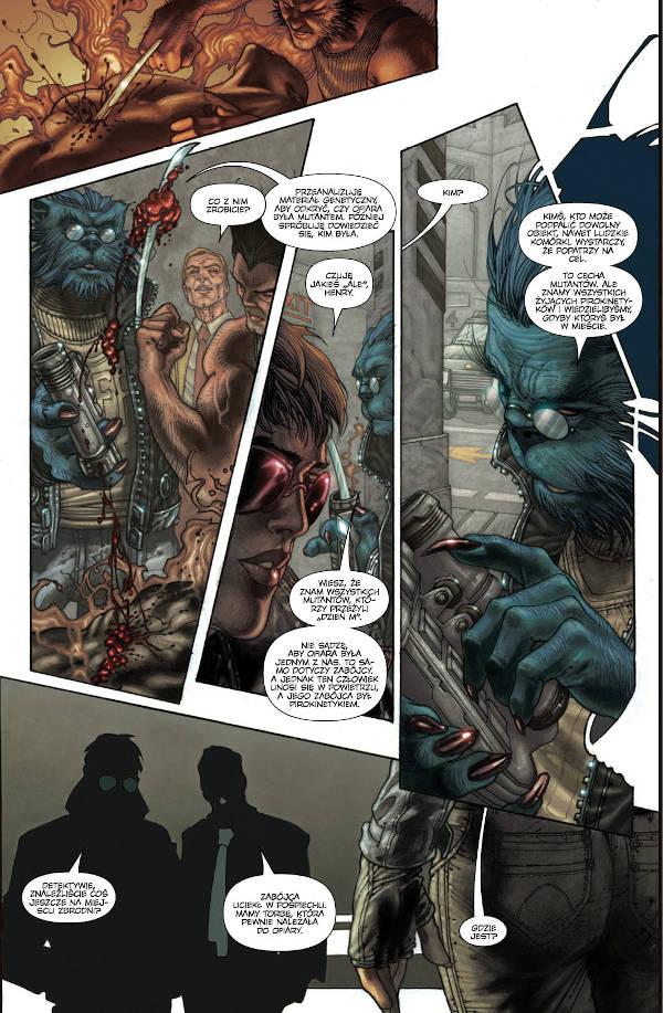 Astonishing X-Men tom 3 - przykładowa strona komiksu
