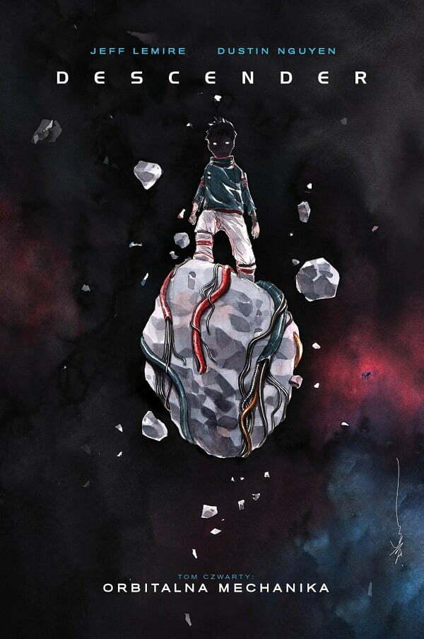 Descender tom 4 - okładka komiksu