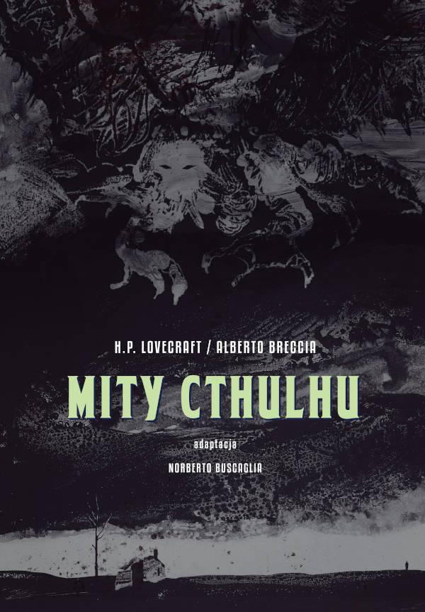 Mity Cthulhu - okładka komiksu