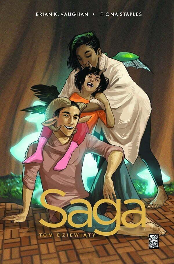 Saga Volume 9 – okładka komiksu