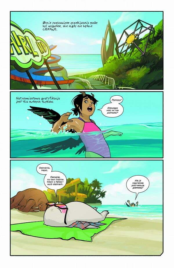Saga Volume 9 – przykładowa strona komiksu