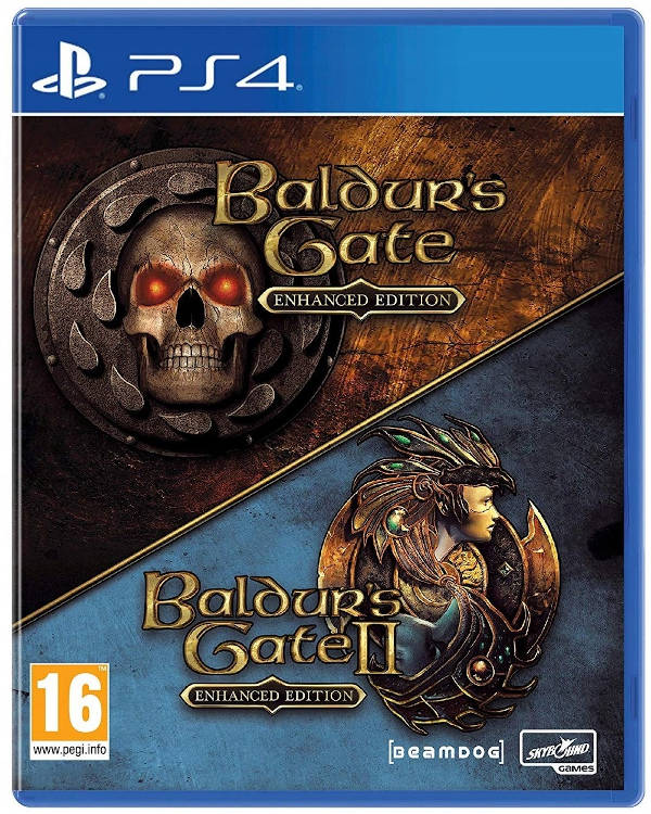 Baldur's Gate Enhanced Edition Okładka