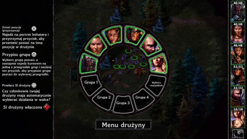Baldur's Gate zrzut ekranu