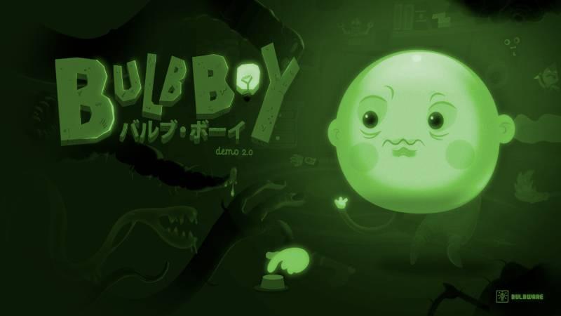 Bulb Boy - ekran tytułowy gry