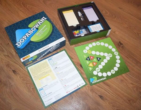 Dopasowani - elementy gry