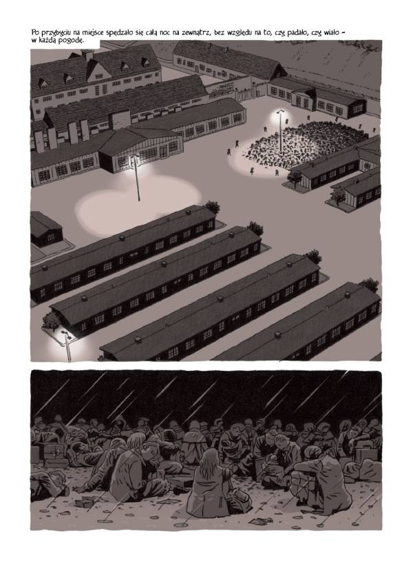 Kroniki Francine R. - przykładowa strona komiksu