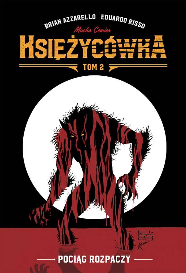 Księżycówka tom 2 - okładka komiksu