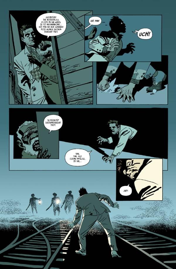 Księżycówka tom 2 - przykładowa strona komiksu