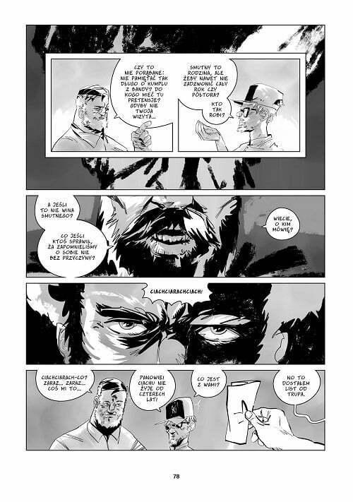 Osiedle Swoboda: Centrum – przykładowa strona komiksu