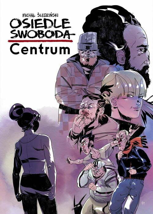 Osiedle Swoboda: Centrum – okładka komiksu