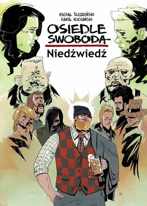 Osiedle Swoboda: Niedźwiedź – okładka komiksu