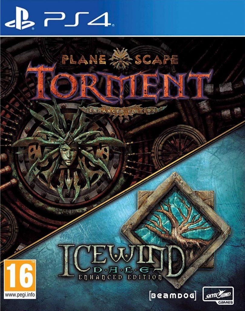 Planescape Torment EE i Icewind Dale EE Okładka