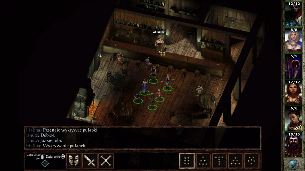 Klasyczny początek sesji RPG - drużyna śmiałków w karczmie