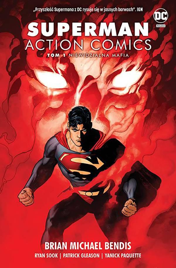 Superman Action Comics: Niewidzialna mafia. Tom 1 - okładka komiksu