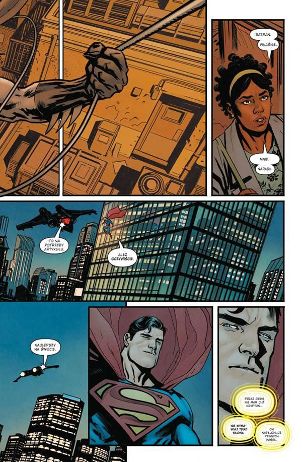 Superman Action Comics: Niewidzialna mafia. Tom 1 – przykładowa strona komiksu
