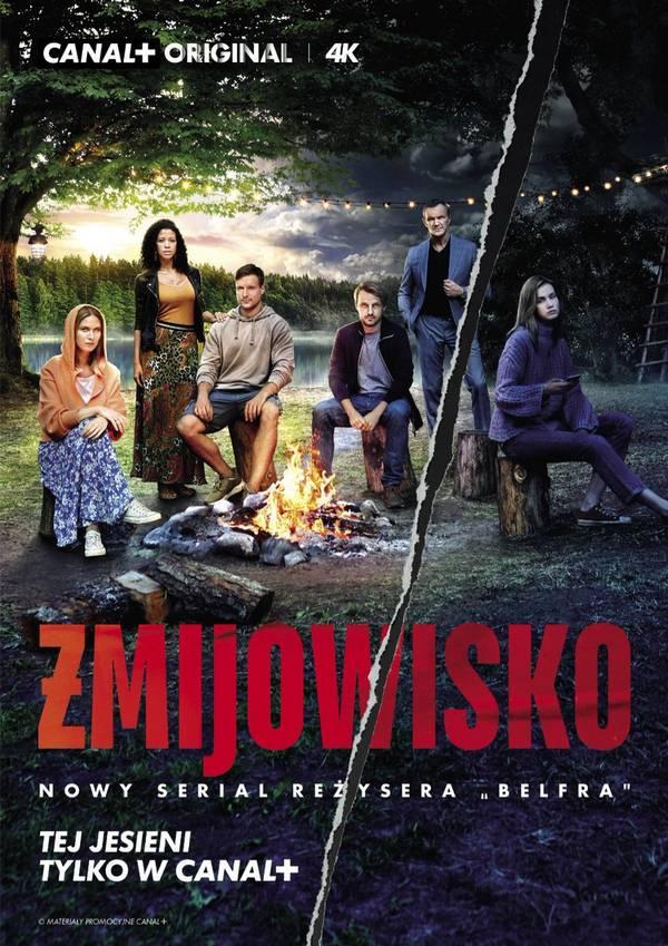 Żmijowisko  –  plakat serialu