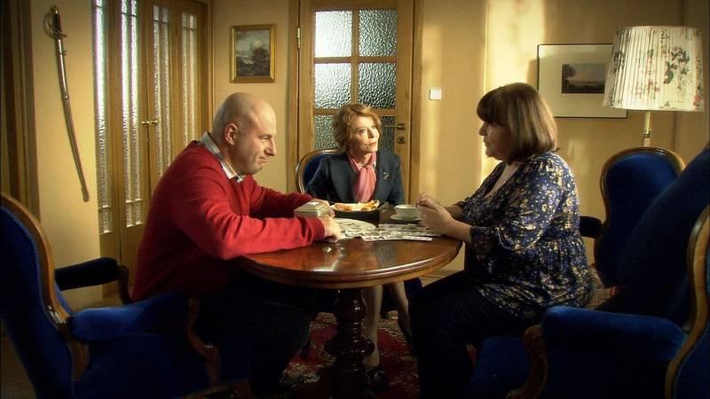 Duch w dom –  kadr z serialu