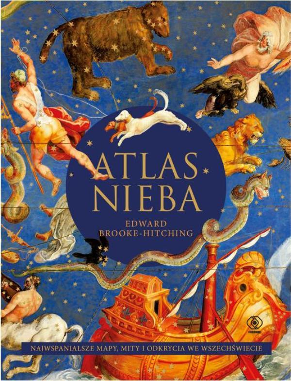 Okładka książki Atlas nieba
