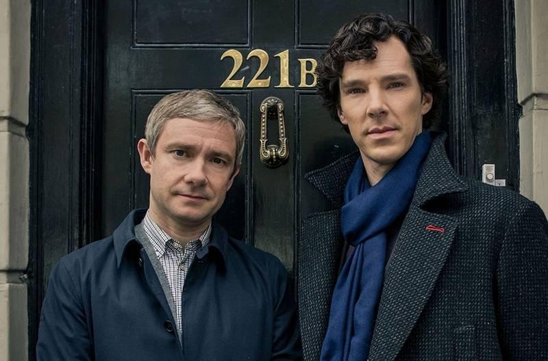 Sherlock – kadr z serialu