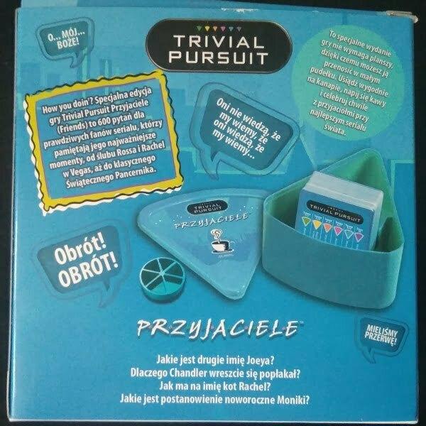 Pudełko gry Trivial Pursuit: Przyjaciele