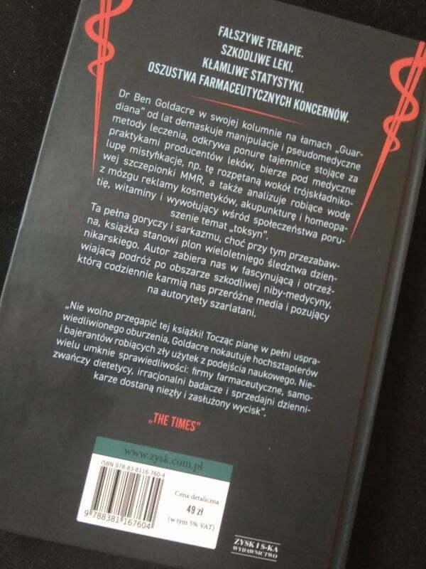 Okładka książki Szkodliwa medycyna