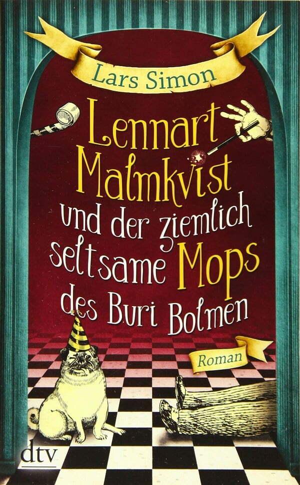 Lennart Malmkvist und der ziemlich seltsame Mops - okładka