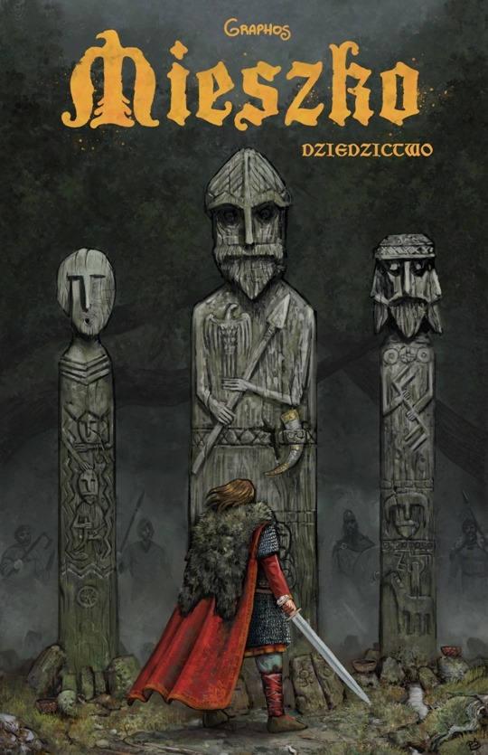 Okładka komiksu Mieszko – Dziedzictwo