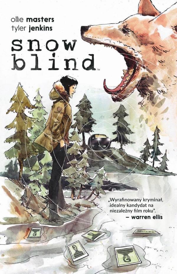 Snow blind - okładka komiksu