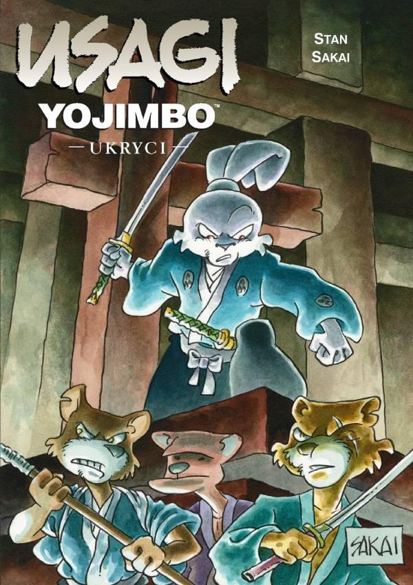 Usagi Yojimbo. Ukryci - okładka komiksu