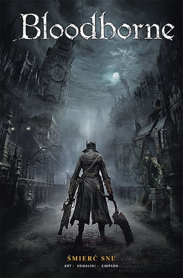 Bloodborne tom 1 - okładka