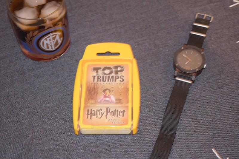 Top Trumps: Harry Potter i Zakon Feniksa - pudełko do gry