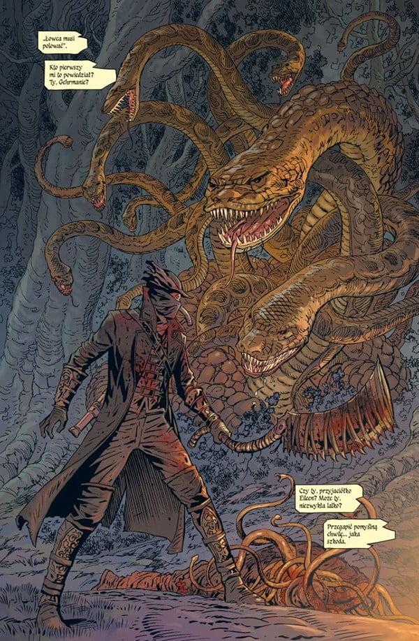 Bloodborne tom 1 - przykładowa strona