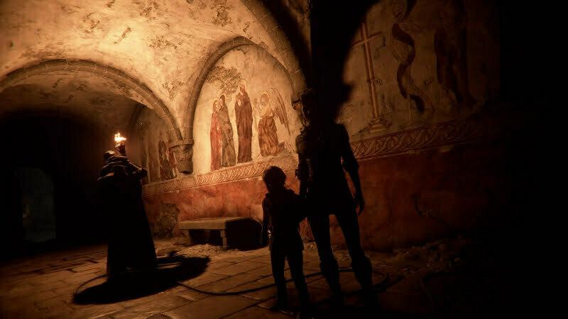 A Plague Tale: Innocence - podziemia kościoła