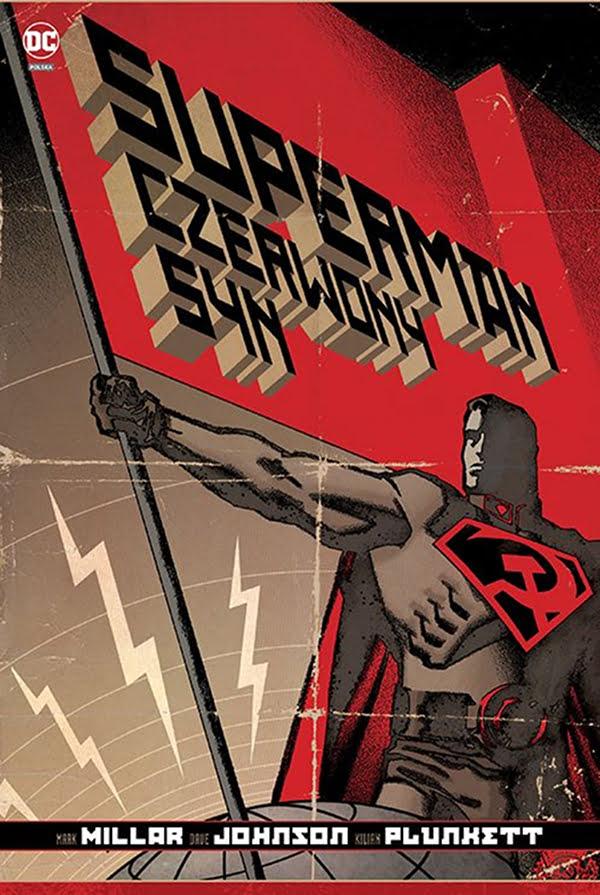 Superman: Czerwony Syn - okładka