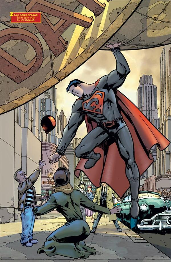 Superman: Czerwony syn - przykładowa plansza
