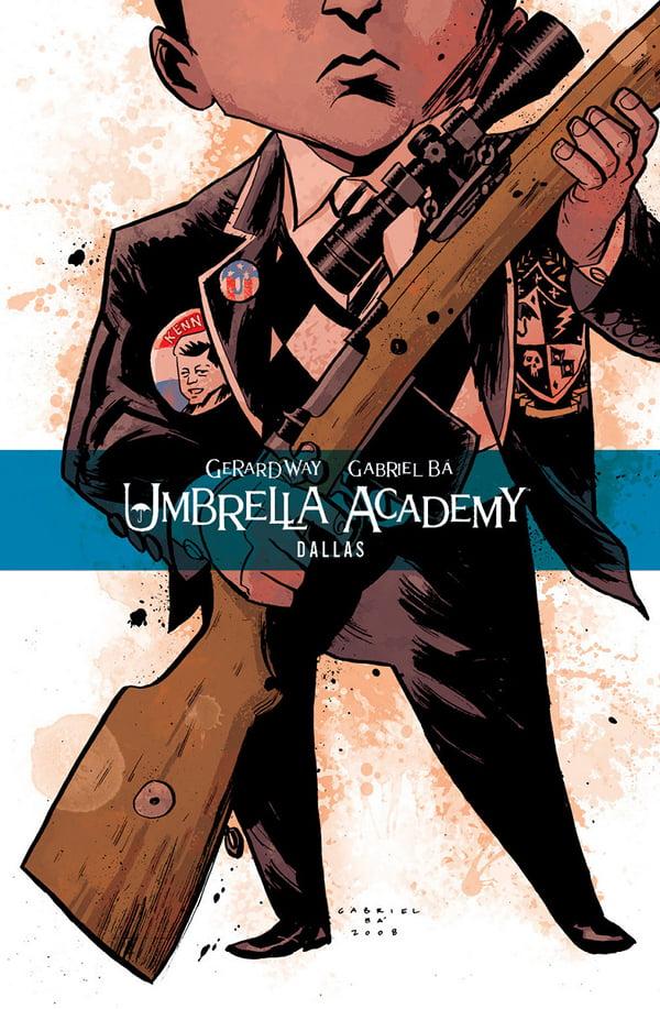 Umbrella Academy tom 2: Dallas - okładka