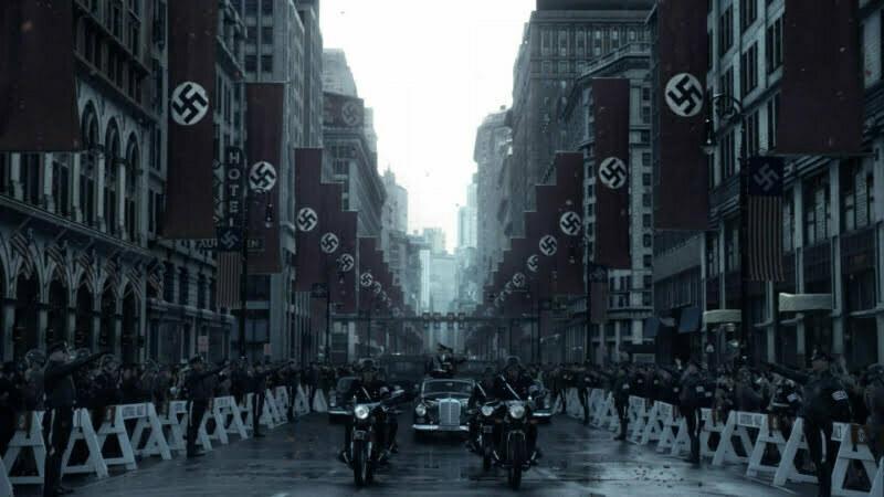 Człowiek z Wysokiego Zamku — Przejazd nazistów