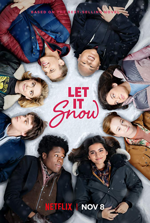 W śnieżną noc — plakat promocyjny