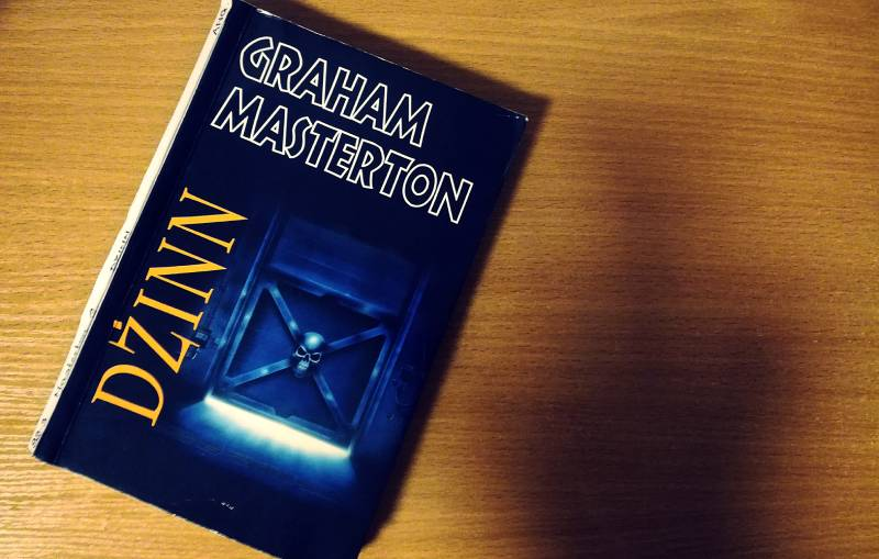 Dżinn - okładka książki