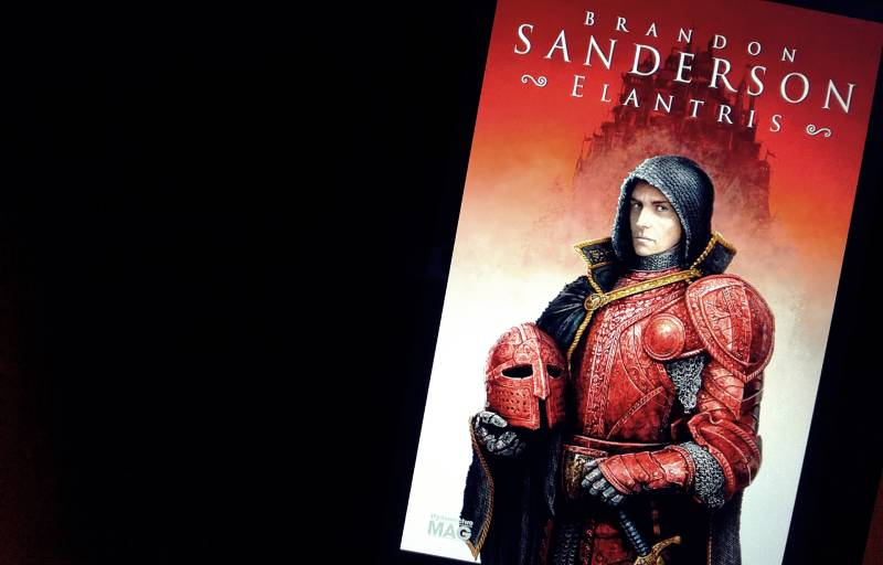 Elantris - okładka książki